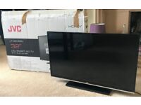 """JVC 32"""" LED Smart HD TV with built in wifi - near perfect condition"""