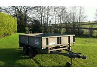 Ifor Williams 8x5 trailer lights brakes