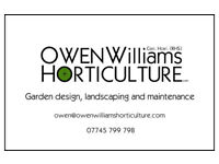 RHS level 3 gardener available for all kinds of gardening work in Bristol and Bath