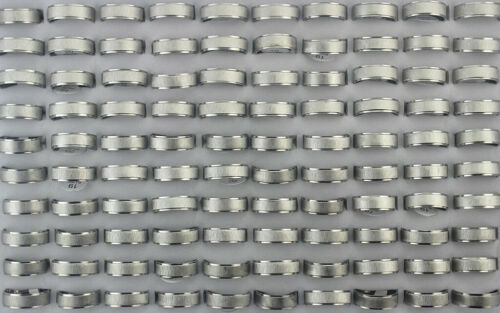 50pcs Wholesale Lots Stainless Steel Rings Men
