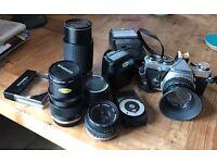 Olympus Camera OM-2n Complete set