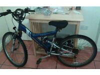 A mountain bike for sale urgently