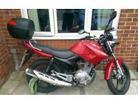 Yamaha ybr 125 (very low miles + FSH)