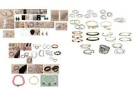 wholesale job lot of 416 items of assorted jewellery - Joblot 12