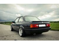 RH zw1 deep dish alloy wheels, 4x100, BMW e30 Vw Golf Mini cooper etc 17inch