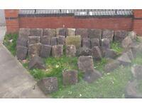 40 x York Stone Coping Stones