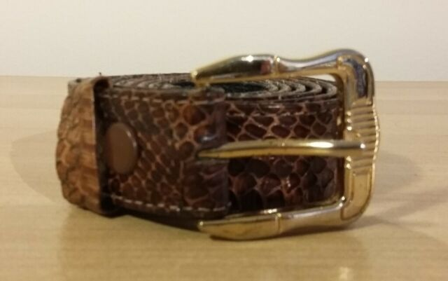 6a3c32555 Ladies Snake Skin Leather Belt | in Camden, London | Gumtree