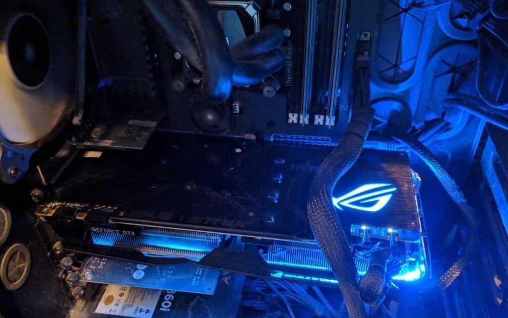 Asus GeForce GTX 1080Ti ROG Strix 11GB GDDR5X Graphics Card | in Dollis  Hill, London | Gumtree