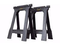 Stanley Folding Junior Saw Horses Sawhorses - 2 pairs (4 units)
