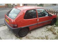 Citroen saxo 1999 1.0 (small car)