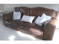 3 or 4 seater sofa and single chair £1800.00 when new