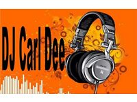 DJ Carl Dee, Disco & Karaoke, All types of music played, Only DJ you need for your party