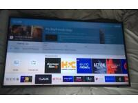 "Samsung 4K UHD 50"" Smart TV (with wall mount)"