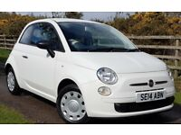 £136.12 a month. FIAT 500. Only 15,000 miles