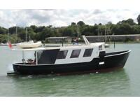 48ft Boat Trawler Yacht Houseboat Liveaboard