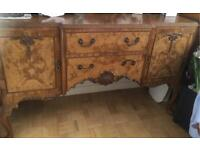 Burr Walnut Sideboard