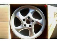 "Porsche 911 996 Turbo Twist 18"" Alloy Wheels 7.5Jx18 ET50"