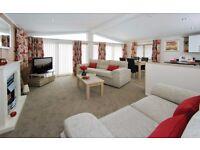 Luxury Lodge for Sale Crantock nr Newquay, not Devon Perranporth St Ives 1 hr Exeter static caravan