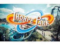 Thorpe Park tickets any day