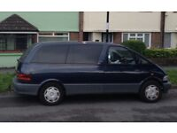 *****1996 TOYOTA PREVIA CAMPER ****PRICED REDUCED****!!! COOK NOT INCLUDED.....