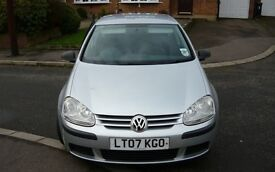 VW Golf 1.4 s {80 PSI] 5 Door, 2 owners, low mileage 65k, full service history