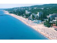 Bulgaria Sunny Beach, ground floor luxury 3 bedroom apartment to rent. 10 mins from beach.