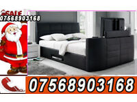 BED ELECTRIC TV BED BRAND NEW TV BED WITH GAS LIFT STORAGE THIS WEEKEND DELIVERY 44