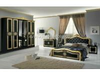 Italian full bedroom set
