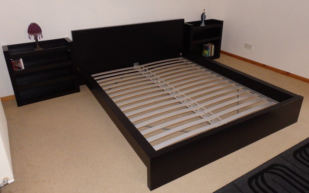 King Size Bed Frame Ikea Malm