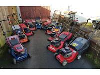 Job Lot of 10 Petrol Rotary Mowers