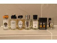 Job Lot Of 7 Authentic Partially Used Designer and Niche Fragrances. Dior, Acqua Di Parma
