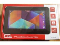 """New 7"""" Touch Screen Tablet"""