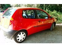 FIAT PUNTO 1.2 - LOVELY CAR, VERY CLEAN & TIDY, MOT, RED WITH BLUE INTERIOR