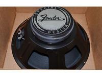 Fender Eminence Lightning Bolt 12 inch 8 ohm speaker Blues Jr