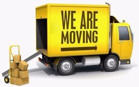 MAN AND VAN REMOVAL SERVICE BIKE RECOVERY PALLET LIFTER PUMP TRUCK MOVING VAN
