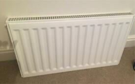 Kudox single radiator 800mm width by 400mm height mm height