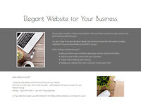Elegant Website for Your Business