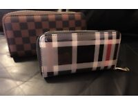 2X PLAID PURSES FOR SALE BRAND NEW