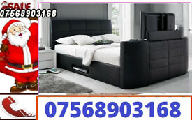 BED BOXING DAY TV BED AND ELECTRIC BED WITH STORAGE AND MATTRESS 80