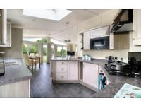 2 BEDROOM LODGE FOR SALE IN THE YORKSHIRE DALES, SKIPTON, LEEDS, WIGAN, MANCHESTER, HOLIDAY PARK