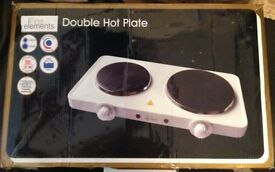 New Double Electric Hotplate