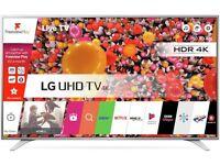 """LG 55"""" 4K LARGE LED SMART TV NEW"""