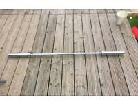 7ft olympic bar like new 320kg rated.