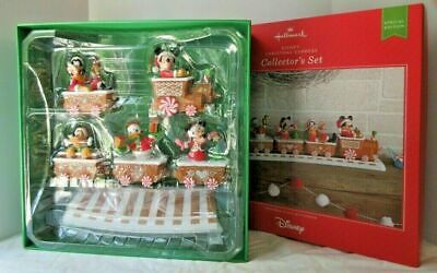 2016 Hallmark ~ Disney Christmas Express Train-Collector's Set ~Limited Edition