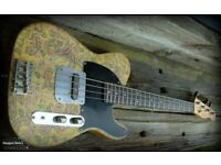 Raygun Relic Short Scale bass guitar