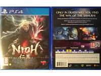 NIOH, for PS4 - Brand New