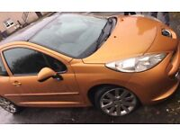 2006 Front Damage Peugeot 207 For Sale