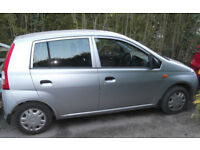 Daihatsu Charade 2003 with only 46000 miles