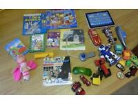 Bundle of toy cars,books for kids