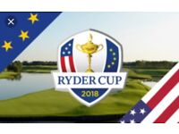 Two Ryder Cup Saturday Tickets